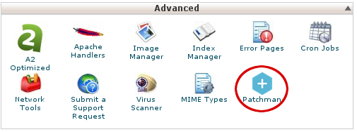 cPanel - Patchman icon